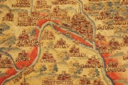 Sheldon Tapestry Map 1663 showing Botley