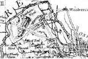 Section of Rocque Map 1760